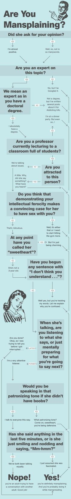 The Man's Guide To Mansplaining http://www.menshealth.com/guy-wisdom/mansplaining?utm_source=facebook.com