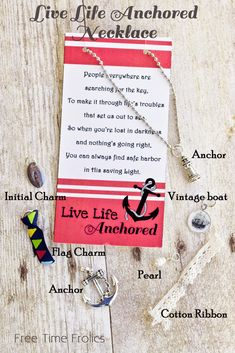 Live Life Anchored night of excellence or new beginnings for LDS young women groups. Perfect for Embark theme or Lighthouse themed activities, special evenings.