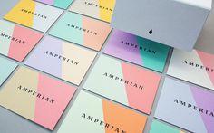 Amperian - kolorowe wizytówki
