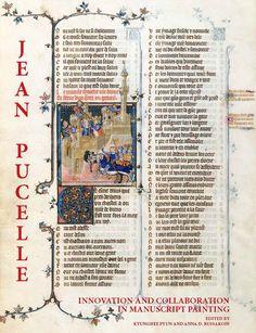 Estudios sobre la figura del gran miniaturista Jean Pucelle, sus patronos, los colaboradores y su legado artístico
