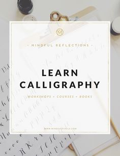 Learn calligraphy one stroke at a time!