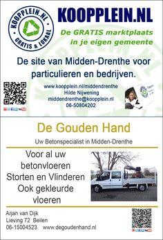 Vanmiddag de advertentie voor het buurtkrantje Holthe, Lieving, Makkum gemaakt. Koopplein Midden-Drenthe en De Gouden Hand samen op 1 pagina in het boekje. http://koopplein.nl/middendrenthe