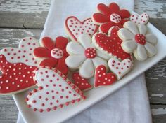 Decorated Valentine Cookies | Decorated cookies