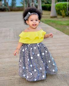 African Print Fashion Styles For Kids - African Fashion Dresses Baby African Clothes, African Dresses For Kids, African Print Clothing, Latest African Fashion Dresses, African Print Dresses, Dresses Kids Girl, Kids Outfits Girls, African Print Fashion, Ankara Fashion