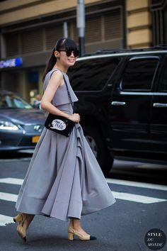 Leaf Greener Street Style Street Fashion Streetsnaps by STYLEDUMONDE Street Style Fashion Photography