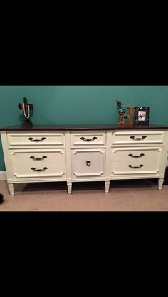 Making old furniture look new again.