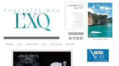 Hemos hecho un proyecto de web y redes sociales para Revista L'XQ Exquisite Mag: web, estrategia de redes, diseño de imagen corporativa. Visita nuestra: www.lexquisitemag.com
