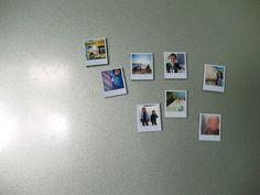 #DIY Mini polaroid magnets #polaroid #magnets