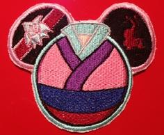 Disney Mulan Mouse Ear Embroidered Patch Disney Princess. $5.00, via Etsy.
