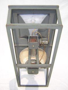 "Konski & Krüger - cinema speakers with 16"" field coil drivers and expo horn field coil tweeters.  40-15 000 Hz"