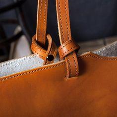 a4755bc00bea Handmade Leather Designer Tote Handbag Shoulder Bag Beach Bag - Brown in  2018