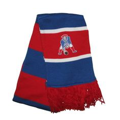 M+N Throwback Striped Scarf  #Patriots