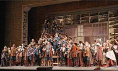Cyrano de Bergerac Set Design by Peter J. Davison Directed by Francesca Zambello