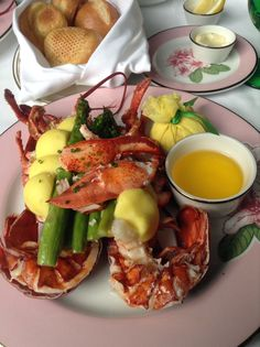 Luscious lobster at the greenbrier in wv