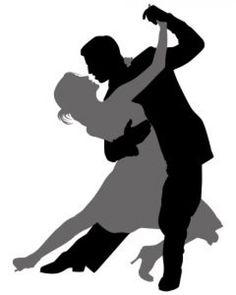 Resultado de imagen de siluetas de tango