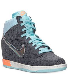Nike Women's Dunk Sky High Premium Casual Sneakers from Finish Line