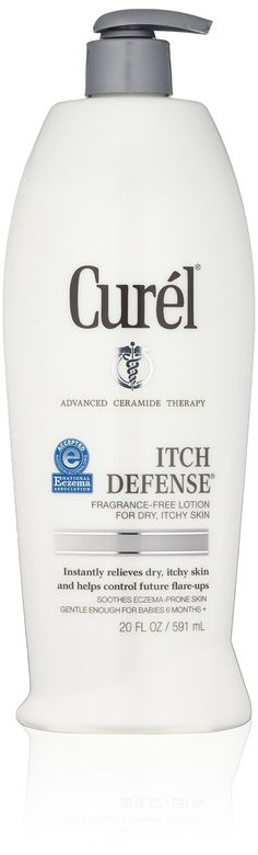 Curel Itch Defense Lotion, Fragrance Free, 20 Ounce