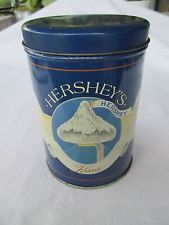 Hersheys Kisses Collectible Vintage Tin from 1989 Lamp Post Story:  Stopped once again at the warehouse and today found this tin.  It's not an antique but someday, it will be.