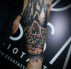 Nasze realizacje Studio Tatuażu, Tatoos, Skull, Sugar Skull