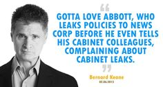 The blatant hypocrisy of Tony Abbott, as noted by @BernardKeane. #AusPol