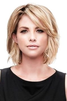 50 Medium Bob Hairstyles for Women Over 40 in Bob hairstyles are always cute but there are too many choices. If you want to change your look or if you want to change your vest completely there is ., Wedding Hairstyles for thin hair over 50 Layered Bob Hairstyles, Chic Hairstyles, Short Bob Haircuts, Cute Hairstyles For Short Hair, Wedding Hairstyles, Hairstyle Ideas, Over 40 Hairstyles, Pretty Hairstyles, Cute Short Hair