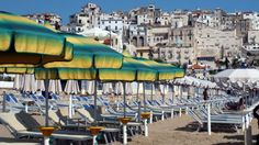Sperlonga Beach And Town In Italy