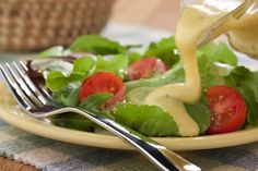 Try drizzling your favorite greens with a fresh-tasting Honey Poppy Seed Dressing and we guarantee it'll be a specialty of the house every time you make it. Side Dish Recipes, New Recipes, Favorite Recipes, Quick Recipes, Recipies, Salad Dressing Recipes, Salad Recipes, Salad Dressings, Sauces