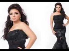 فساتين ومكياج وتسريحات شعر الفنانة رانيا يوسف في احدث صور لها