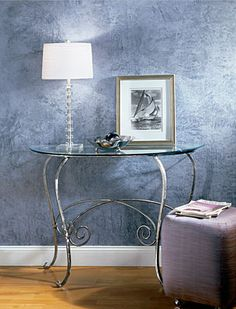 ShimmerStone Blue Wall