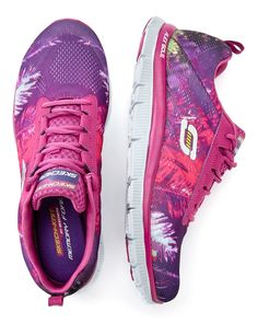 b0d7135934381b Skechers Wide-Width Printed Sneakers  penningtons  plussizefashion  Extrabreite Schuhe