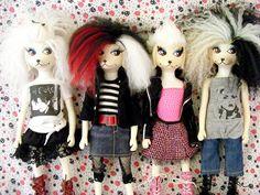 Peteena Poodle Dolls