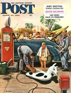 Stevan Dohanos August 20, 1949