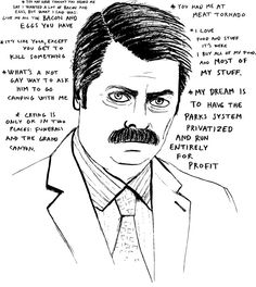 parks and recreation quotes ron swanson - Google Search