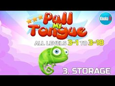 Pull My Tongue - 3. Storage - Complete Walkthrough