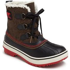 gearing up for a long winter with cute boots.  SOREL 'Tivoli' Waterproof Boot |