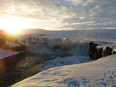 """According to the Sagas, Þorgeir of Ljósavatn threw his statues of the gods into the falls when Iceland converted to Christianity in the year 1000, hence the name Goðafoss (""""Waterfall of the Gods"""")   This is one of the magical places in Mývatn area that the Game of Thrones crew fell in love with."""