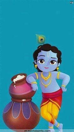 HappyShappy - India's Own Social Commerce Platform Little Krishna, Cute Krishna, Radha Krishna Pictures, Lord Krishna Images, Krishna Photos, Krishna Drawing, Bal Gopal, Krishna Radha, Krishna Statue