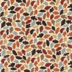 Dear Stella - Nutmeg - Leaves - Multi : Sew Modern