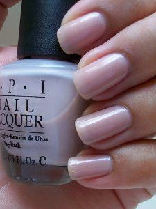 OPI Nail Polish Mod Hatter NLH25 by OPI. $9.00. pretty light gray color. 0.5oz