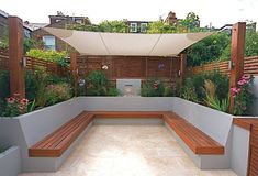 Garden seating - 40 Generous DIY Outdoor Bench Design Ideas for Backyard & Frontyard