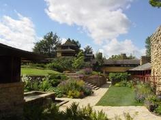 Taliesin - Frank Lloyd Wright's home in Wisconsin