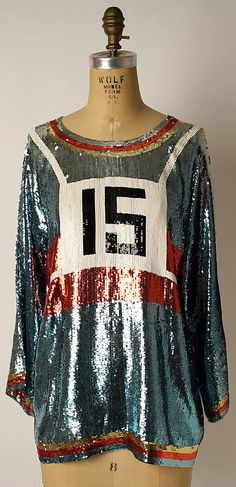 Shirt, silk and plastic, Geoffrey Beene designer, American, 1976 70s Fashion, Fashion History, Vintage Fashion, Womens Fashion, Vintage Couture, Mode Vintage, Passion For Fashion, Designer, Catwalk