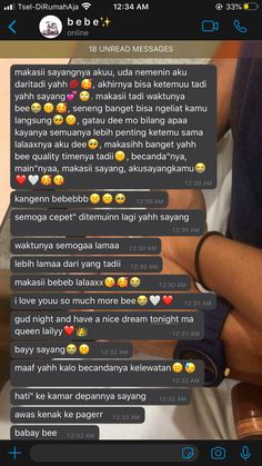 Quotes Rindu, Message Quotes, Text Quotes, Qoutes, Cute Couples Texts, Couple Texts, Honey Quotes, Avril Lavingne, Relationship Goals Text
