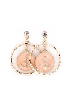 Nautical Dangles in Natural Softness on Emma Stine Limited