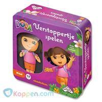 Identity Games, Dora verstoppertje spelen - Koppen.com Dora And Friends, Identity, Toy Chest, Storage Chest, Lunch Box, Games, Toys, Decor, Activity Toys