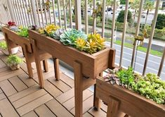 Diy Planters, Garden Planters, Small Vegetable Gardens, Plant Box, Woodworking Projects Diy, Dream Garden, Backyard Patio, Flower Pots, Outdoor Living