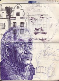 markpowellart5 by mark powell bic biro drawings, via Flickr Biro Art, Biro Drawing, Drawing Sketches, Sketching, Blue Drawings, Ink Pen Drawings, Amazing Artwork, Cool Artwork, Metamorphosis Art
