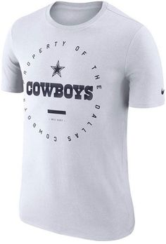 1b0c5f1c9 Nike Men s Dallas Cowboys Property Of T-Shirt Football Team Logos