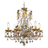 Found it at Wayfair - The Rose 6 Light Chandelier