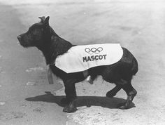 Smoky, the unofficial mascot of Los Angeles' 1932 Summer Olympics